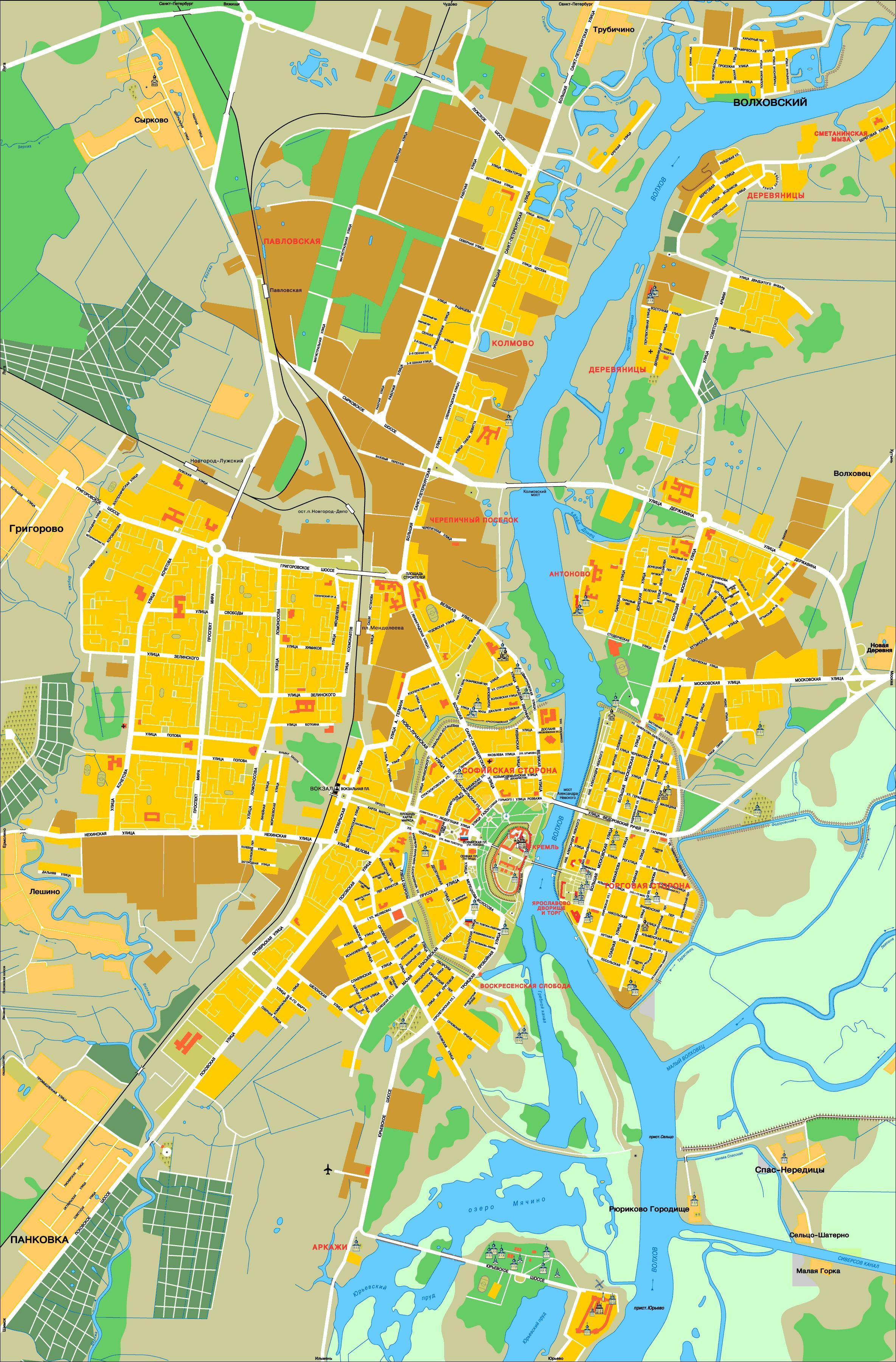 знакомство с городом великий новгород